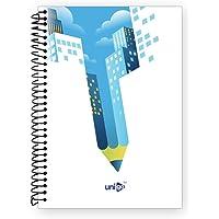 Unigo Spiral Notebook (Uni-10, 200 Pages Plain)