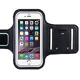 Sport Armband, OMorc wasserfest Handyhülle, Fitness Tasche, Armtasche mit Schlüsselring für...