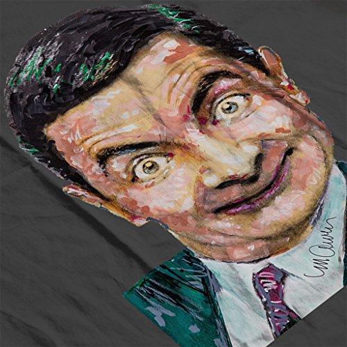 Sidney Maurer Mr Bean Rowan Atkinson Official Women's Sweatshirt Charcoal