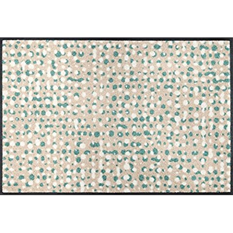 wash + dry - Tappeto Dotty Dots 50x75, Beige