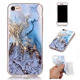 BONROY-iPhone-7-47-Pouces-Coque-Housse-EtuiFashion-Belle-Srie-Marbling-Ultra-Mince-Thin-Soft-Silicone-Etui-de-Protection-pour-Souple-Gel-TPU-Bumper-Poussiere-Resistance-Anti-Scratch-Case-Cover-Couvert