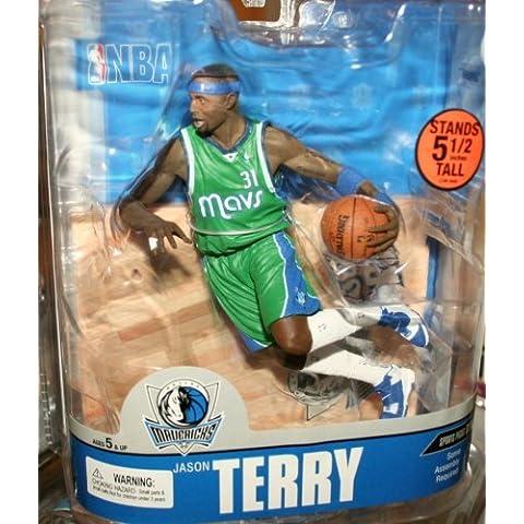 McFarlane Toys NBA Sports Picks Series 13 Action Figure Jason Terry (Dallas Mavericks) Green Jersey Variant by Sports Picks