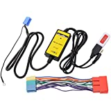 Coche reproductor de audio MP3Interfaz USB AUX Cable adaptador para Audi A4S4A6S6ac471