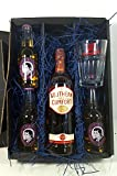 Southern Comfort Whiskey Set / Geschenkset – Southern Comfort Whiskey 70cl (35% Vol) + 3x Thomas Henry Ginger Ale 200ml + Shakers Glas geeicht 4cl