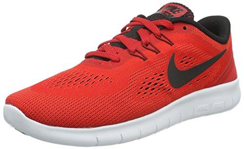 Nike Free Run, Unisex-Kinder Laufschuhe, Rot (University Red/Black-White), 37.5 EU (37.5 EU)