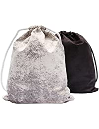 47b24ce931871 Gym Bag Turnbeutel Rucksack Sporttasche - aus Madagaskar Velour Wildleder