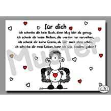 13 - Liebeskarte - Was schenk ich nur? - Postkarte von Sheepworld