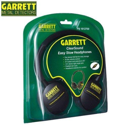 Garrett-Detector De metales Clearsound-Auriculares con conector Jack, 6,35 Mm