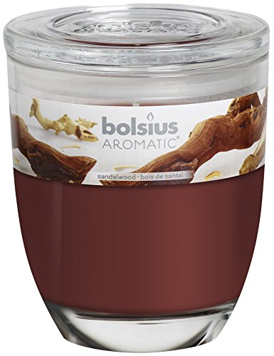 BOLSIUS Duftglas groß, Sandelholz