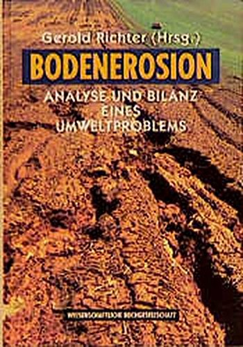 Bodenerosion. Analyse und Bilanz eines Umweltproblems