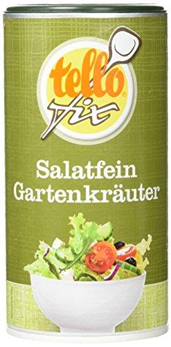 tellofix Salatfein Gartenkräuter, 2er Pack (2 x 220 g Packung)