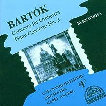 Concerto pour orchestre / Concerto pour piano n°3
