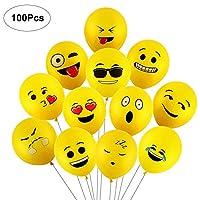 Yizhet Emotion Series Latex Balloons Smiley Face Cute Balloon