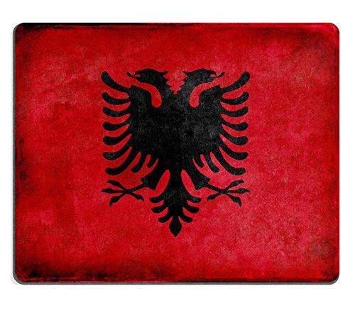 MSD Naturkautschuk Mousepad Bild 20479280Grunge Albanische Flagge 2338