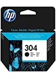 HP 304 Original Black Ink Cartridge Capacity Standard