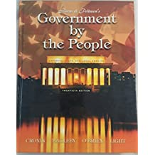 Government by the People: National, State, and Local Version by James MacGregor Burns (2003-03-01)
