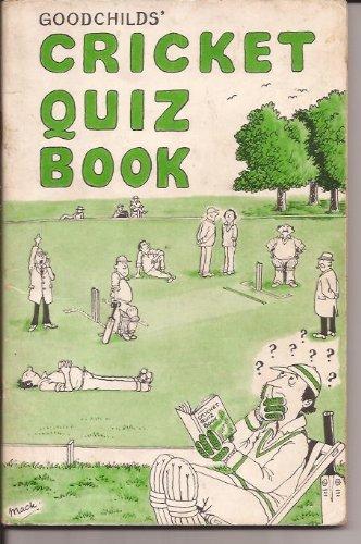 Cricket Quiz Book: No. 1 por R.A. Goodchild