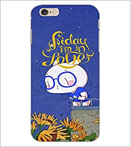 PrintDhaba Panda D-4871 Back Case Cover for APPLE IPHONE 6S PLUS (Multi-Coloured)