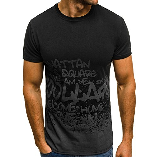 WWricotta LuckyGirls Camisetas Hombre Originals Manga Corta...