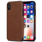 Bisikor iPhone XS Case/iPhone X Case Leather...