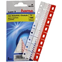 Hama Klebefolie für Super 8 Filme, 100 Stück, Cinekett, Rot