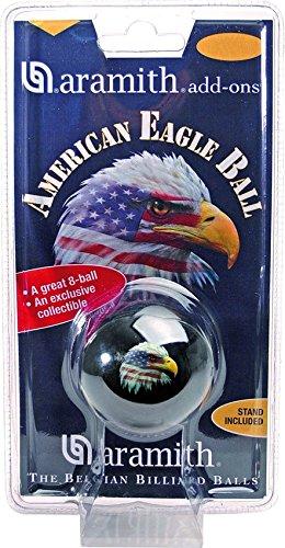 "Poolball Nr. 8 "" Eagle"" Aramith 57,2 mm"