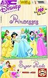 100PC Disney Prinzessinnen Puzzle aus Holz