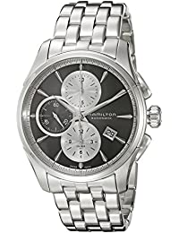 Hamilton Jazzmaster 'Swiss reloj de acero inoxidable automático de los hombres de, color: silver-toned (modelo: h32596181)