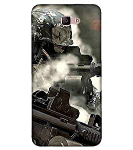 Cartoon, Black, Cartoon and Animation, Fighter, Printed Designer Back Case Cover for Samsung Galaxy A3 :: Samsung Galaxy A3 (2017)