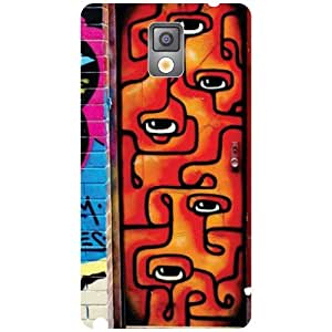 Samsung Galaxy Note 3 N9000-Style Matte Finish Phone Cover