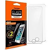**2-Pack** Pellicola Vetro Temperato iPhone SE / 5S / 5C / 5 Spigen® **Easy-Install Kit** ...