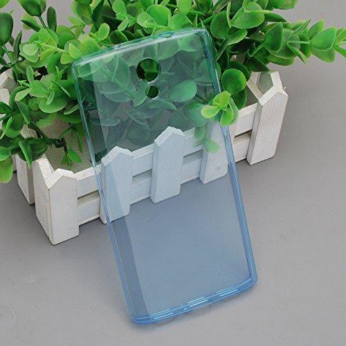 Homtom HT7 Hülle Blau Case Silikon Homtom HT7 Handyhülle Schutzhülle TPU Case Backcover Bumper Slimcase