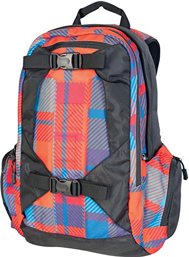 Nitro Snowboards Rucksack Zoom, plaid red/blue, 50 x 33 x 19 cm, 29 Litre, 878013 -