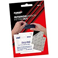 Summit SP-3 Interior Mirror Rear View Adhesive Pads Pack Of 2 Double Sided Comes With Cleaning Wipe