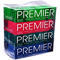 Premierr Face Tissues Box (Pack of 4)