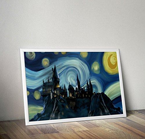 Harry Potter inspiriert Aquarell Poster - Dobby - Hogwarts - Zitat - Alternative TV / Movie Prints in verschiedenen Größen (Rahmen nicht im Lieferumfang enthalten) Wallpaper-banner
