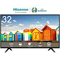 HISENSE H32BE5000 TV LED HD, Natural Colour Enhancer, Clean Sound, Motion Picture Enhancer, Tuner DVB-T2/S2 HEVC, 2 HDMI, USB Media Player
