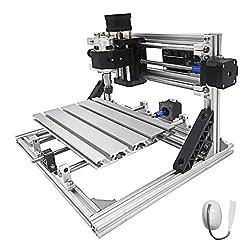 VEVOR 2418 cnc graviermaschine fräse 3 achse CNC Router Machine Er11 5MM milling machine cnc 240X180X40Mm engraving machine kit