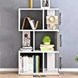 HM&DX Holz Standregal bücherregal,3 schränke Bücherschrank Möbel Display-Rack Freie Kombination Aufbewahrungsregal Für Home Office -E