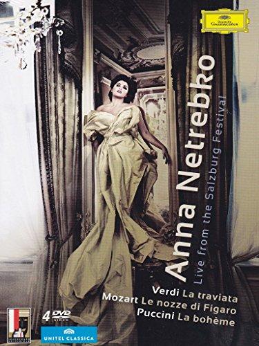 Anna Netrebko - Live From the Salzburg Festival [4 DVDs]