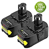 [2 Packs] Boetpcr P108 18V 5.0Ah packs de Batteries Lithium-ion Remplacement pour...