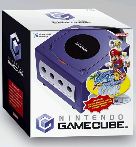 GameCube - Konsole + Mario Sunshine + Memory 59 (Nintendo Gamecube Super Mario)