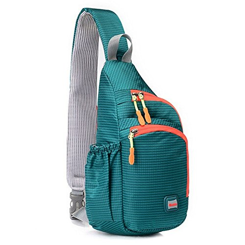 2fa9090933b8 CATOP Sling Shoulder Crossbody Bag Water Resistant Compact Lightweight  Cross Body Bag Daypack for Hiking School
