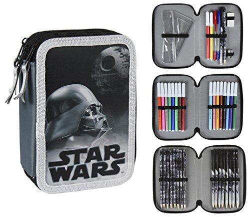 Star Wars- Plumier Triple (Artesanía Cerdá 2700000199)