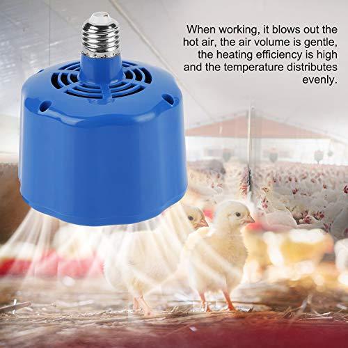 Acogedor Lámpara de Calor para Mascotas E27 para Aves de Corral, Lámpara de calefacción de Cultivo de 100-300W para Herramienta de lámpara de Calor de Ganado de Pollo para Mascotas