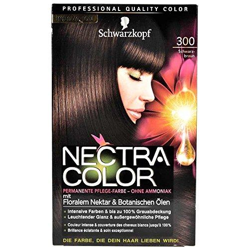 schwarzkopf-nectra-color-pflege-farbe-300-schwarzbraun-143-ml