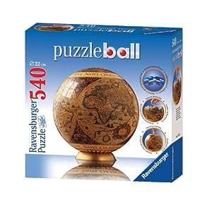 ravensburger puzzleball historic world map 540 pieces. Black Bedroom Furniture Sets. Home Design Ideas