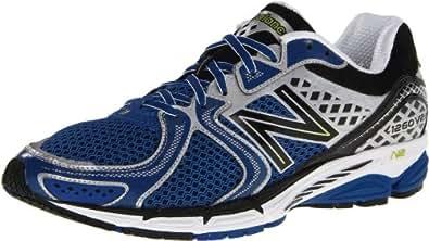NEW BALANCE M1260V2 Men's Running Shoes, Blue/Black/White, UK7.5 - Width D