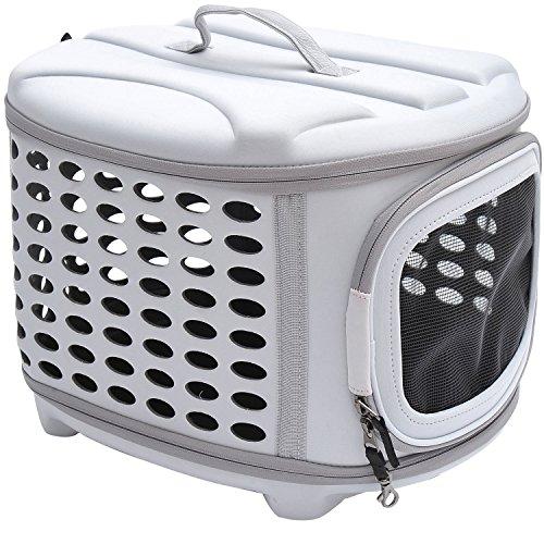 PawHut D1-0166 Transporttasche für Tiere, lichtgrau - 2