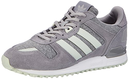 adidas Zx 700, Chaussures de Running Femme Gris (Medium Grey Heather/linen Green/grey)